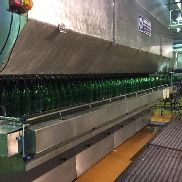 COMPLETE SECOND HAND GLASS BOTTLES FILLING LINE 30.000 bph 41-A