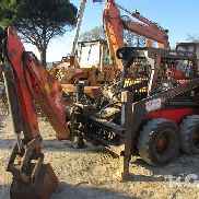 34-17 BACKHOE MINI CARICATORE