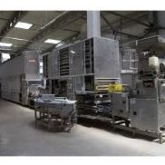 Baking line for the production of rolls Lipperlt