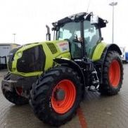 Claas Axion 830 A40 farm tractor