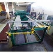 Machine for sheet metal production