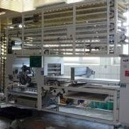 Line for the production of rolls König KGV 1500