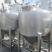 Conical tanks of
