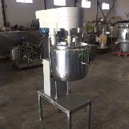Boiled creams machine in stainless steel TURU GRAU 60 lts
