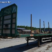 LEONET LSF36 three-axle semi-trailer flatbed Structure
