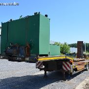 FAYMONVILLE STN-3U 3-axle semi-low-loader Structure