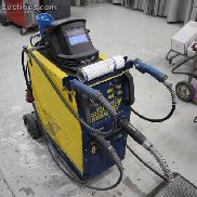 1 mobile welding unit GYS DUOMIG AUTO for aluminum,