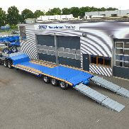 70 tonnes semi-trailer 3 axes, specially suited for difficult roads