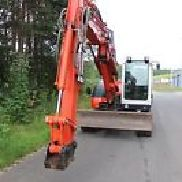Kubota KX 080-3a Adjustable spreader condition