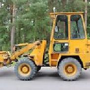 Hanomag 10 E wheel loader - incl. Side tipping bucket