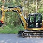 CAT 308 - as new - incl. SW and humus bucket