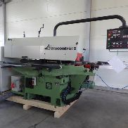 Winkelanlage Weinig type UNICONTROL 6, electronic bulletin, screen control, rear conveyor belt,