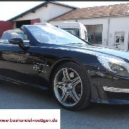 Mercedes-Benz SL 63 AMG Speedshift MCT 7-speed sports transmission
