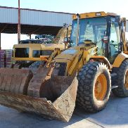 MIXED BACKHOE JCB 4CX YEAR 2004