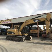 CAT 323D L CHAIN ​​EXCAVATOR YEAR 2007