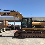 EXCAVATOR OF CHAINS CAT 336 D L YEAR 2010