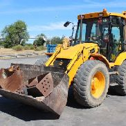 MIXED BACKHOE JCB 4CX JAHR 2006