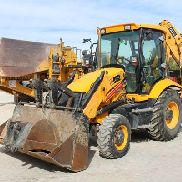 MIXED BACKHOE JCB 3CX YEAR 2008