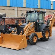 MIXED CASE 580SR BACKHOE 2004