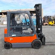 Used Electric forklift Toyota 7FBMF30 - Matr. 11099