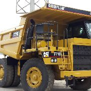 CATERPILLAR 771D Hubwagen