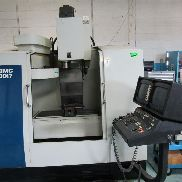 "Hurco Model BMC30/M CNC Machine, Serial B3M91006097CC, 230 Volt, 3 Phase, 60 Hertz, 30"" X-Axis Travel, 18"" Y-Axis Travel, 24"" Z-Axis Travel, 40"" x 16"" Table Size, 1100 Pound Max. Table Load, Spindle Speed 8000 RPM, 15 HP Spindle Motor with 6"" BCM CNC Machine Chuck (#2296 & #2368)"