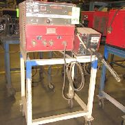 "Lincoln Electric Idealarc CV-300, 300 Amp DC Welding Power Supply S/N U1940324865, Code# 9939, 208-230/460V, 3 Ph, 60 Hz with Welding Gun & Lincoln LN-742H Wire Feeder Mounted on Heavy Duty Steel Cart 40""H x 32""L x 26""W"