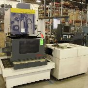 "1997 FANUC Robocut A-1C Wire EDM, s/n E97803476, Fanuc 16-W CNC Control, 33"" x 27.3"" x 12"" Max Work piece Size, 20.5"" X, 14.6"" Y, 12"" Z, 2,200 Lb Max Work piece Weight, .004-.012"" Wire Diameter, 0-590 IPM Wire Speed, w/ Emcor CH1502-A 1321 Chiller"