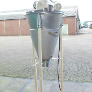 2 Cubic Foot Pharmix Model HV-50 304 Stainless Steel Conical Mixer