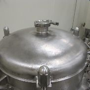 130 Gallon 45 PSI Internal, 100 PSI Jacket Stainless Steel Process Vessel
