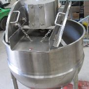 50 Gallon 90 PSI Jacket Stainless Steel Double Motion Mix Kettle