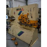 Used punching machine Geka 110 SD Hydracrop