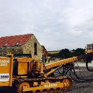 Klemm KR 802 Tracked Wagon Drilling Rig