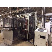 "Used Complete Line Consisting of Irwin Inline 44-40 Mini Mag Thermoformer 40""x44"" and Lyle 140P2 Trim Press 44"""