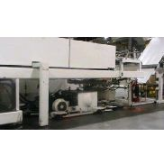 "Used Brown MC4500 & T300 thermoforming line, 40""x42"" Max Mold Size, 7"" Depth of Draw, 168"" oven length."