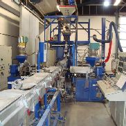 3-layer HDPE extrusion line