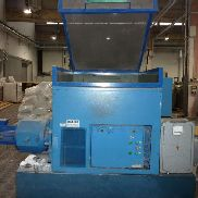 Compacting and crushing line