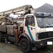 Mercedes-Benz 19 / 22with Hallmeister 24 Meter Betonpumpe