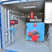 2 mobile units for heating, 350 and 470 kw - can be sold separately