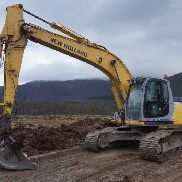 New Holland Kobelco E215 LC