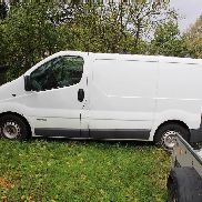 Truck closed box RENAULT Trafic 1.9 dCi 100 L1H1