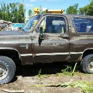 1984 Chevrolet Blazer K10 Utility Hardtop, Brown Color, Has 4 Wheel Drive, Not Running, VIN: 1G8EK18