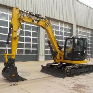 "2011 CAT 308DCR Hydraulic Excavator, Cab, Rubber Tracks, 8'5"" Stick, Backfi"