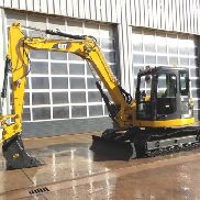"2011 CAT 308DCR Hydraulic Excavator, Cab, 24"" Steel Tracks, 8'5"" Stick, Bac"