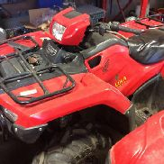 2014 Honda Fourtrax 4x4 All-Terrain Vehicle