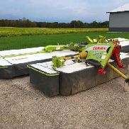 2012 Claas 3100F Profil Disco non conditioning front mower; s/n 62302505 & 2012 Claas 9100 Contour