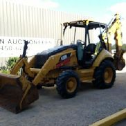 2008 CATERPILLAR 420E 4X4 LOADER BACKHOE, CANOPY, 89'' BKT, EXTEND-A-HOE, 29'' HOE BKT W/TEETH, 19.5