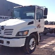 2005 HINO 268 S/A CAB & CHASSIS, DIESEL, 6 SPD, SPRING SUSP., 11R22.5 VIN/SN:JHBNE8JT851S11292 ODO R