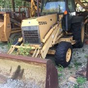 Ford/New Holland 555D backhoe