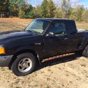2001 FORD RANGER PICKUP, 4WD AUTO, 287,189 MILES - RUMFORD